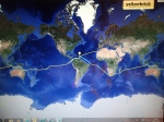 Our Track Joins up as we complete our circumnavigation!