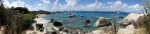 Panoramic of the Bath's Virgin Gorda