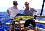 paul richie with the 1st mahi mahi