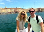 Paul & Audrey Adamson living it up in Saint Tropez