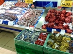Plenty of seafood in the markets
