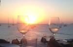 Sunset dinner, Formentera