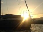 Paul Adamson in the sunset